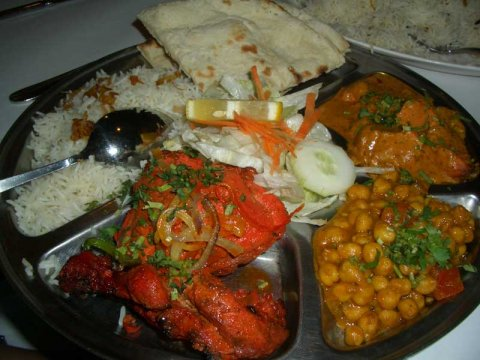 Indian Food plate